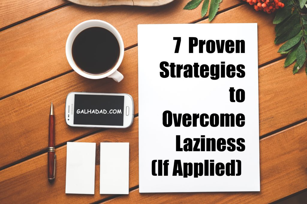 overcome lazyness